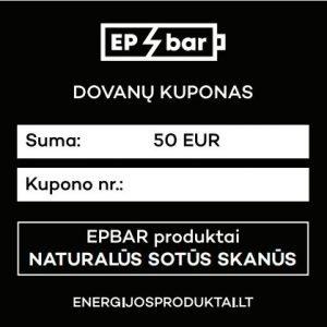 EPBAR Dovanų kuponas 50 EUR