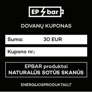 EPBAR Dovanų kuponas 30 EUR