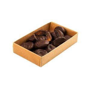 Džiovinti abrikosai juodajame šokolade 200 g